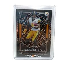 Benny Snell Jr. Pittsburgh Steelers 2019 Panini Obsidian Football Card 42/50