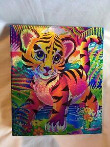 Lisa Frank 3 Ring Binder Tiger Cub - Glitter Sparkling