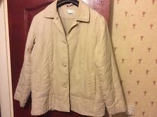 Beige Light-Weight Ladies Jacket from Northmoor in UK size 16, GREAT CONDITION