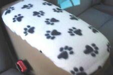 Armrest Covers For Center Console (Center Console Cover) U3 -WHITE PAWS-