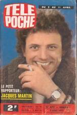▬►Télé Poche 477 (1975) JACQUES MARTIN_THIERRY LE LURON_DANYEL GÉRARD_HONDA 125