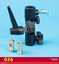 Manfrotto 026 Swivel Umbrella Adapter (Lite-Tite) Mfr# 026 Brand New