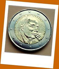 2 Euro Gedenkmünze Frankreich 2016 -100.Geburtstag Francois Mitterrand - Neu