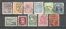 T386 - LETTONIA 1927/40 - EMISSIONI 11 DIFFERENTI - VEDI FOTO