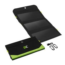 Green Cell GC SolarCharge 21W Solar Ladegerät SolarPanel mit 6400 mAh Powerbank