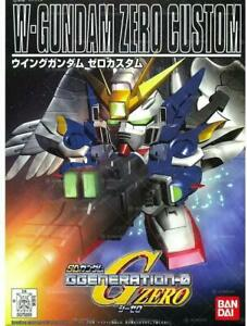 W-Gundam Zero Custom  SD Model Kit  BANDAI Kit Montaggio