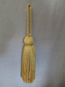 Decorative Gold Silken Tassel 10cm + 5cm loop