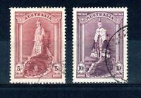 "Australia 1938 5s and 10s ""Robes"" FU CDS"