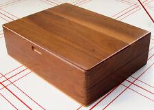 Lauffer Design 3 Flatware Storage Box Mid-Century Modern Walnut Silverware Chest