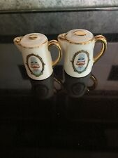 Vintage Disneyland Coffeepot Salt/Pepper Shakers. Walt Disney Production Japan.