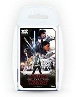 Star Wars Episode 8: The Last Jedi Top Trumps [New Games] Card Game