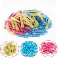50x Waterproof Solder Sleeve Wire Terminals Seal Heat Shrink Butt Connectors