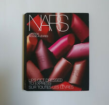 New NARS Lipstick Samples Travel Pack 12 Shades Satin Sheer Matte on Card Wallet