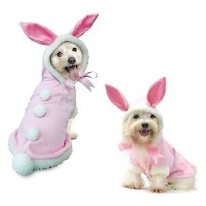 High Quality Dog Costume - BUNNY COSTUMES Dress Your Dogs Like a Pink Rabbit