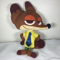 "Disney Collection Zootopia Nick Wilde Fox Character 16"" Plush Stuffed Toy FS"