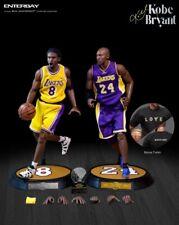 Enterbay Los Angeles Lakers Kobe Bryant EXCLUSIVE Dual Pack 1/6 Figure