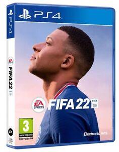FIFA 22 STANDARD EDITION PS4 GIOCO ITALIANO PLAY STATION 4 VIDEOGIOCO 2022 PS5