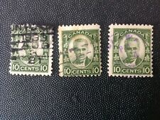 CANADA 1931 10 CENT SIR GEORGE ETIENNE CARTIER STAMPS USED