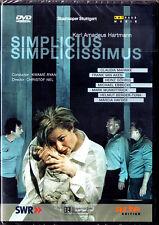 DVD Karl Amadeus HARTMANN Simplicius Simplicissimus Claudia Mahnke Christof Nel