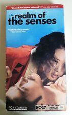 IN THE REALM OF THE SENSES VHS 70s Japanese Erotic Drama  Nagisa Oshima NC-17
