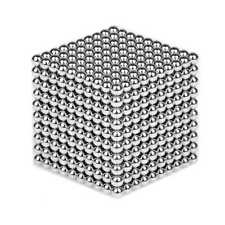 Neu 100Stk. Neodymium Ball Magnets 5mm Nickel Plated N38 5mm