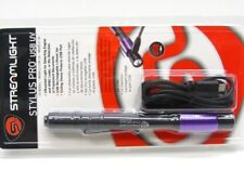 Streamlight Black Stylus Pro Usb UV LED Flashlight Light + Usb Cord 66149