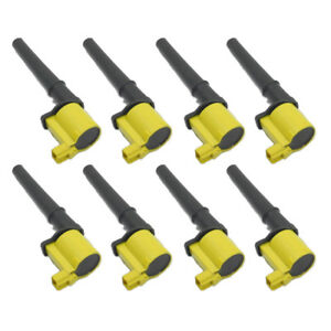 8PC UFD254Y IGNITION COIL DG512 UF191 FOR FORD LINCOLN MUSTANG GT 4.6L 5.4L V8