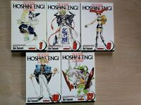 Hoshin Engi 1, 6, 9-10, 12, Lot of 5 Shonen Manga, English, 13+, Ryu Fujisaki