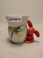 +# A016076 Goebel Archiv Muster Vase Hase Häschen Maiglöckchen OH32