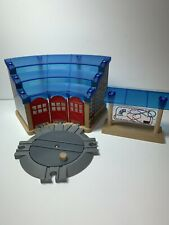 Thomas Train Imaginarium Wooden Railway Toys R Us Roundhouse W/Turntable