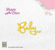 Nellie Snellen SHAPE DIES WORDS Cutting Die - BABY SD113