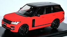 Range Rover MK IV 4. Generation 2012-15 rouge rouge Mat with Noir Paquet 1:43