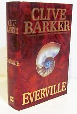 EVERVILLE by CLIVE BARKER  HCDJ FIRST EDITION / FIRST PRINTING