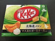 Limited Japanese Kit Kat Hokkaido Melon Cheese Chocolates KitKat Mini 3 Pieces