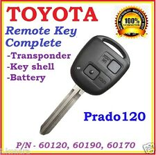 Toyota Prado 120 Remote key Transponder Two Buttons - 2002 to 2004