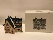 Dept 56, Heritage Village, Alpine Village Series, Apotek And Tabak, 6540-4