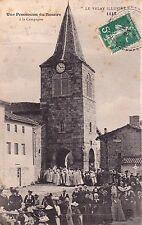 SAINT-GEORGES-L'AGRICOLE 1110 une procession du rosaire timbrée 1913