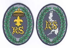 BOY SCOUT OF PHILIPPINE (BSP) - Rover Scout CS Highest Rank Award Patch SET
