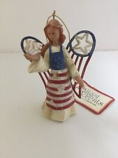 American Angel Accents Angel with Dove Roman 71383 Ornament Nwt