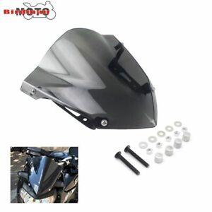 For Yamaha FZ-07 MT-07 MT07 2018 2019 2020 Windshield Windscreen Pare-brise Gray