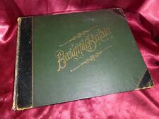 Antique BEAUTIFUL BRITAIN Book 1894 Scenery & Splendours of UK Stately Houses