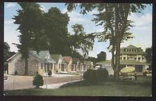 POSTCARD MEMPHIS TN/TENNESSEE LEAHY'S TOURIST INN COTTAGES 1930'S