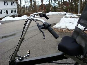 Bike-E Recumbent Cruising/Touring bars Extremely helpful for comfort and Control