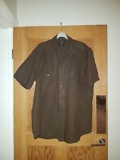 *REDUCED* H&M Mens Large Fitted Short Sleeved Summer Casual Shirt