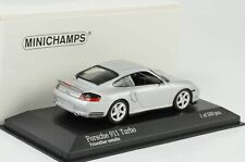 1999 Porsche 911 996 Turbo polar silber 1:43 Minichamps