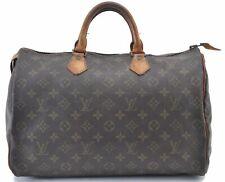 Authentic Louis Vuitton Monogram Speedy35 Hand Bag Old Model LV B3834