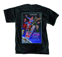 DC Comics Superman B and T Mens Black T-Shirt