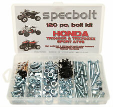 Specbolt 120 piece Bolt Kit Honda TRX450R 700XX ATV frame body plastic fenders