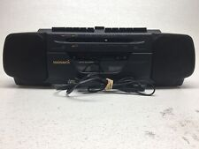 Magnavox Aw 7035 Dual Cassette Am/Fm Radio Boom Box , Fully Tested, Works Great