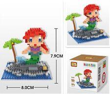 LOZ Diamond Blocks iBLOCK FUN Mini 9499 The Little Mermaid Ariel Block With Box